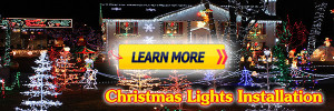 Christmas Lights Installation Service